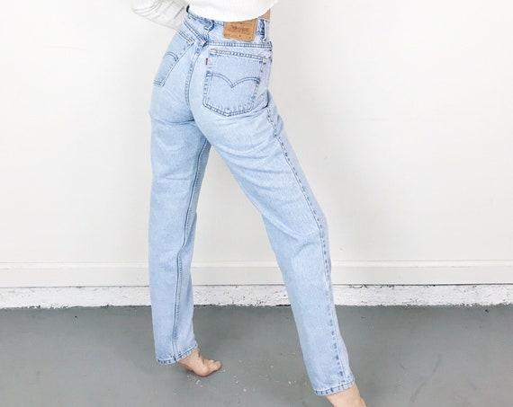Levi's 512 Vintage Jeans / Size 27 28