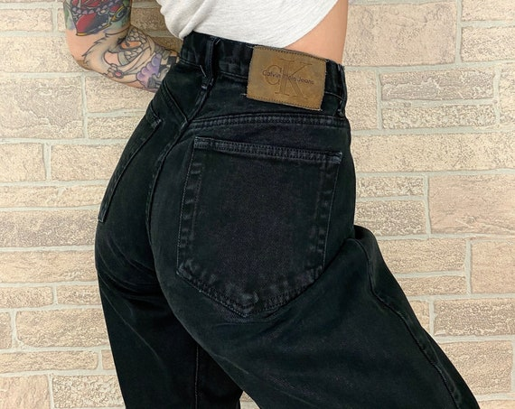 Calvin Klein CK Black Jeans / Size 28