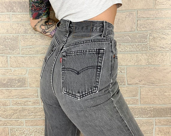 Levi's 501 Faded Jeans / Size 25 26