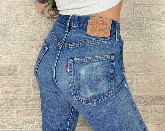 Selvedge Redline Levi's 501 Jeans / Size 26
