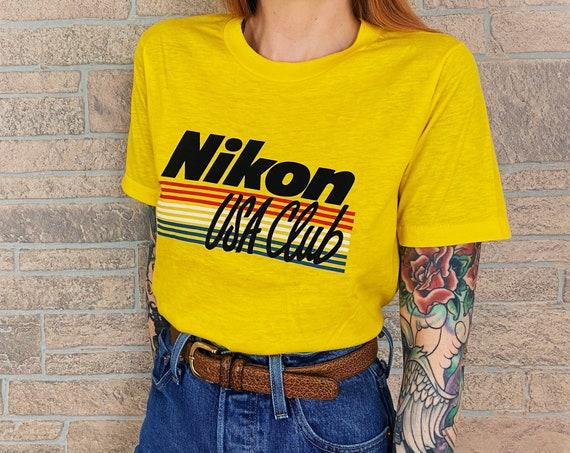 70's Nikon Camera Promo Tee T-Shirt