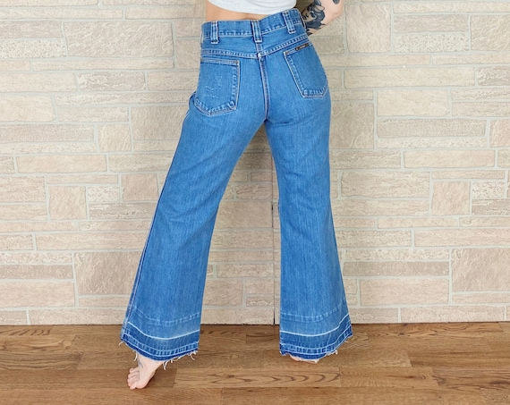 70's Sedgefield Bell Bottom Jeans / Size 29 30