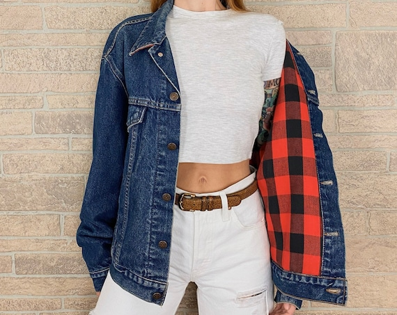 Levi's Flannel Lined Denim Jacket