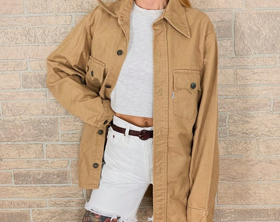 60's Levi's Big E Beige Denim Chore Coat