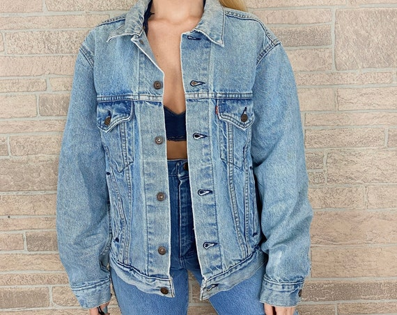 Levi's Faded Denim Jacket