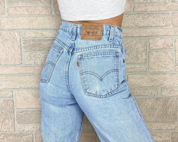 Levi's 550 Orange Tab Jeans / Size 24 25