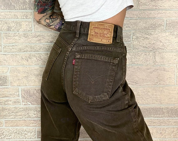 Levi's 550 Brown Jeans / Size 27 28