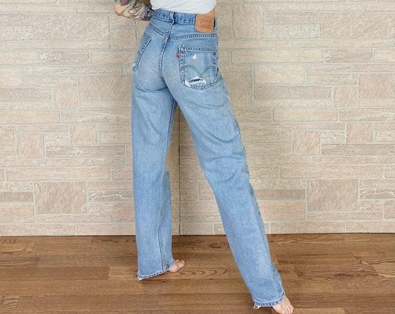 Levi's 550 Distressed Workwear Jeans / Size 28
