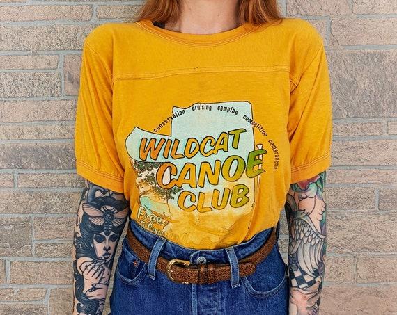 70's Wildcat Canoe Club Travel Tee T-Shirt