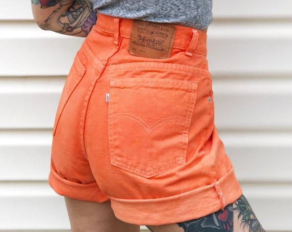 Levi's 950 Overdyed Denim Shorts / Size 29