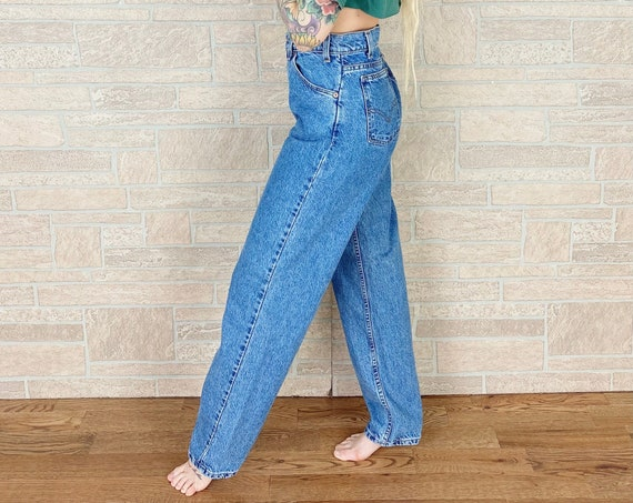 Levi's 550 Orange Tab Jeans / Size 30