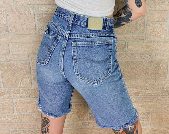 Vintage LEE Jeans Bermuda Shorts / Size 28