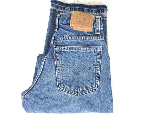 XXS Levi's 550 Vintage Jeans / Size 22 Petite