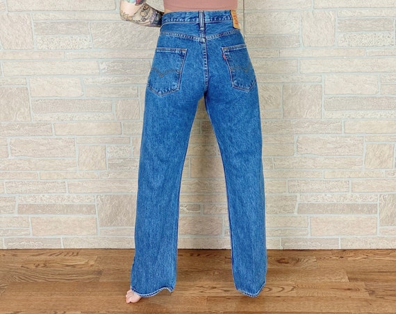 Levi's 501 Button Fly Jeans / Size 32