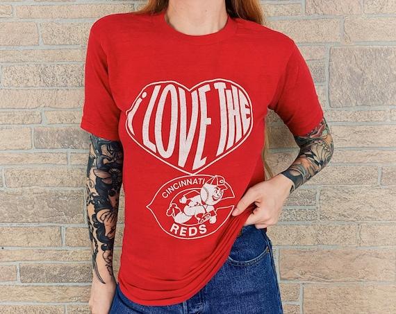 70's Cincinnati Reds MLB Baseball Tee T-Shirt