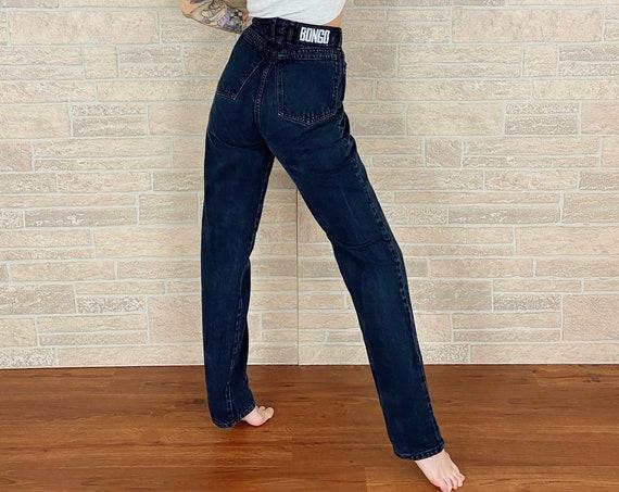 Bongo Vintage Black Jeans / Size 26 27