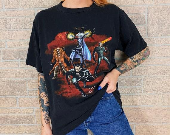 Vintage X-Men Marvel Comics Single Stitch Tee T-Shirt