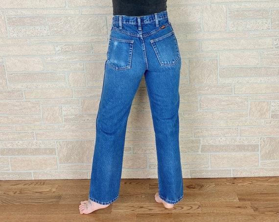 90's Rustler Straight Leg Jeans / Size 26 27