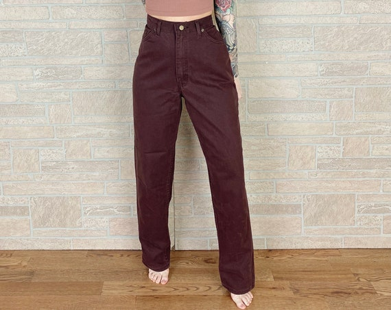 CHIC Relaxed Fit Brown Jeans / Size 30 31