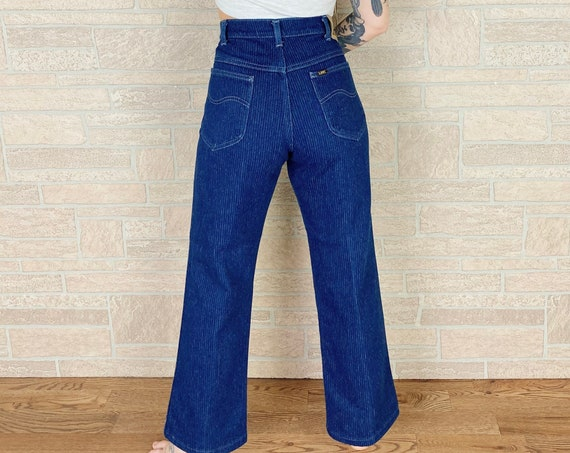 LEE Riders Pinstriped Vintage Jeans / Size 31
