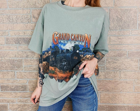 1994 Grand Canyon Railway Travel Tee T-Shirt