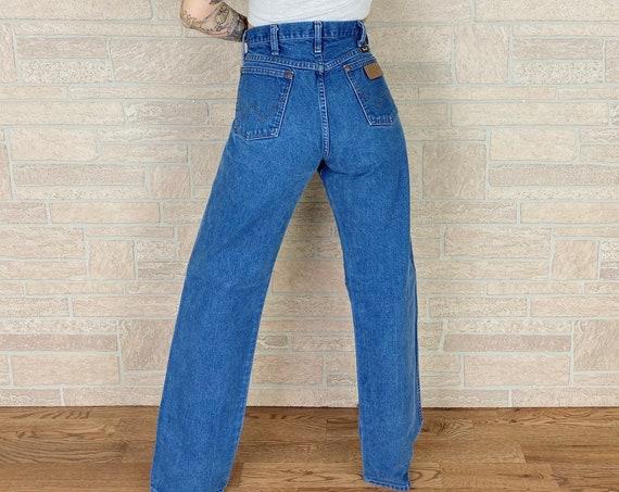 Vintage Wrangler Western Jeans / Size 30 31