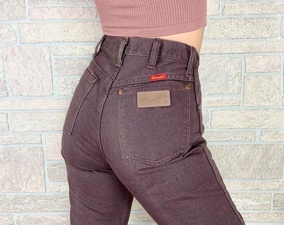 Wrangler Vintage Western Brown Jeans / Size 25 26
