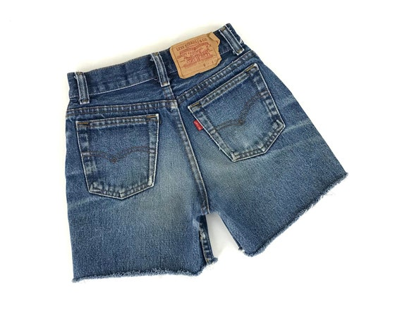XXS 70's Levi's Cut Off Shorts / Size 21
