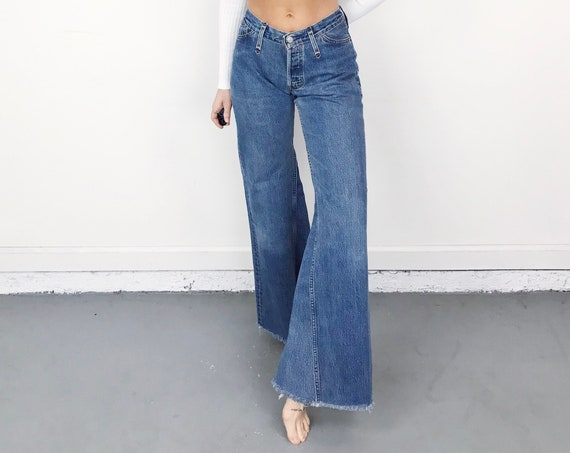 Levi's 501 Altered Ultra Wide Leg Vintage Jeans / Size 27