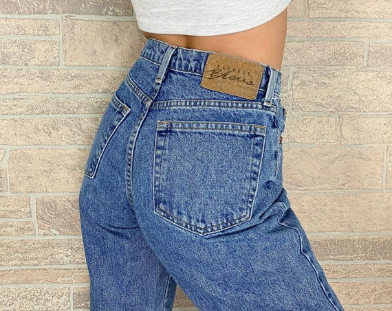 Express Bleus Relaxed Jeans / Size 25 26