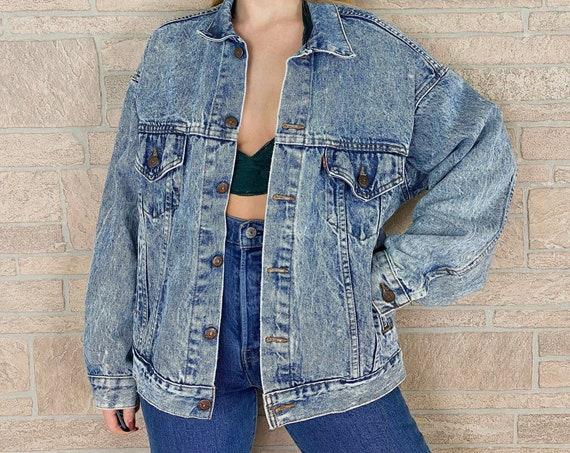 Levi's Vintage Stonewash Denim Jacket