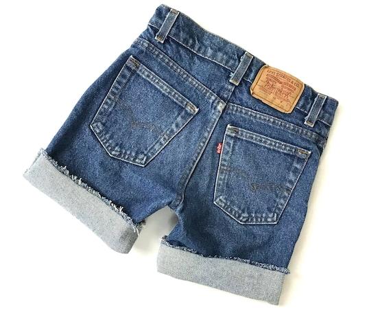 Levi's Vintage 70's Cut Off Jean Shorts / Size 21 XXS