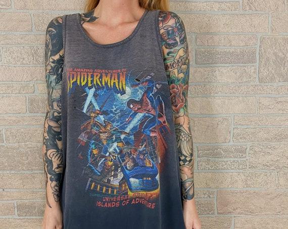 1998 Spider-Man Hobgoblin Islands of Adventure Tank Top Shirt