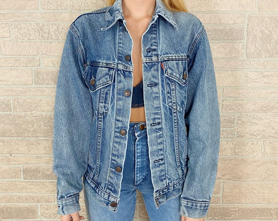 Levi's Faded Vintage Denim Jacket
