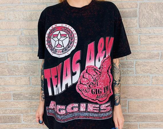 90's Vintage Texas A&M Aggies T-Shirt