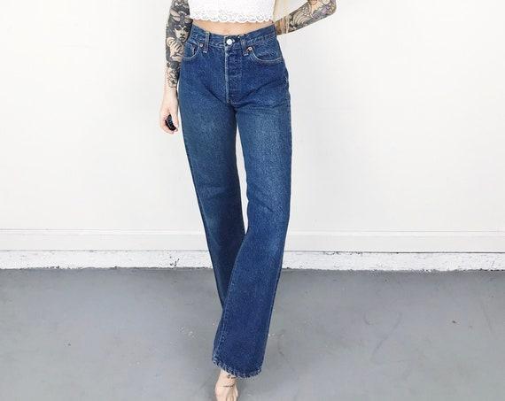 70's Levi's 501 Jeans / Size 27