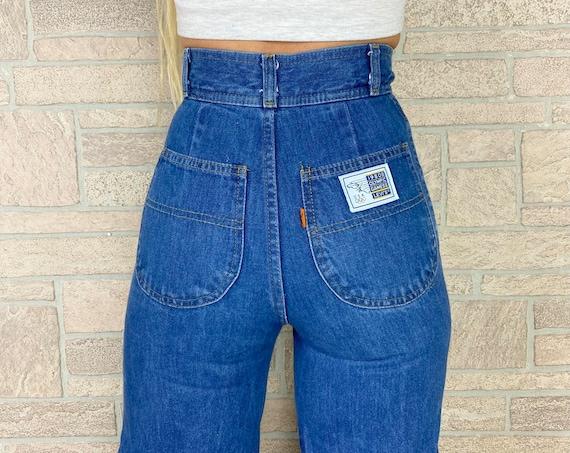 Levi's x Olympics Orange Tab Wide Leg 1980 High Rise Jeans / Size 22 23 XXS