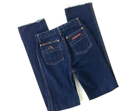 XXS 70's Jordache Western Jeans / Size 21 22