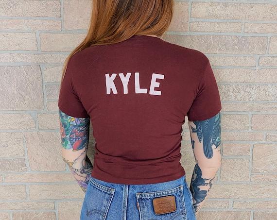 80's Soft Burgundy Kyle Vintage Tee