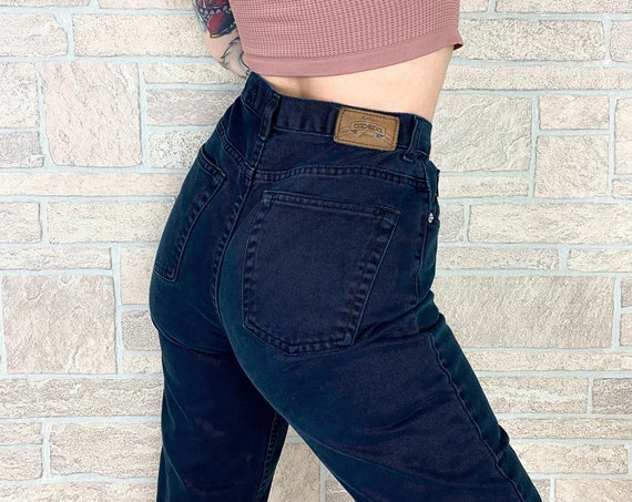 Vintage Capezio Black Jeans / Size 26 27