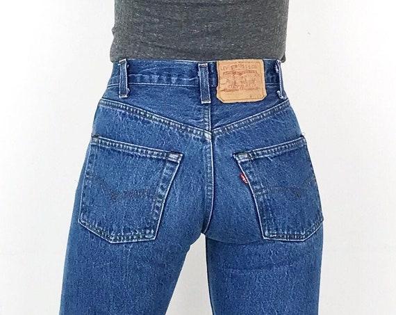 70's Levi's 501 Jeans / Size 23 24