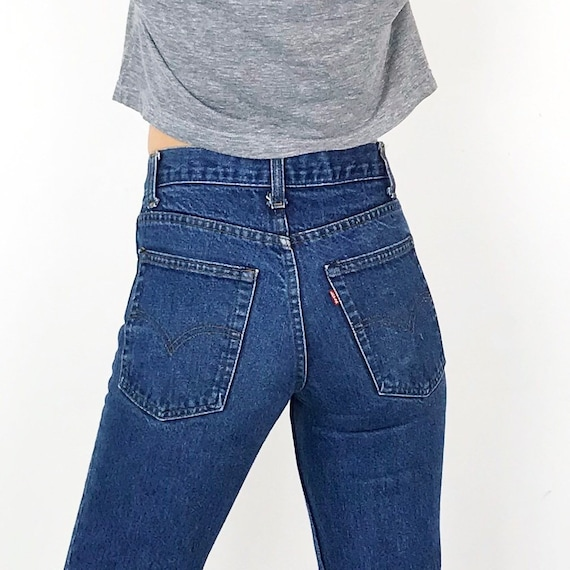 70's Levi's 720 Jeans / Size 24