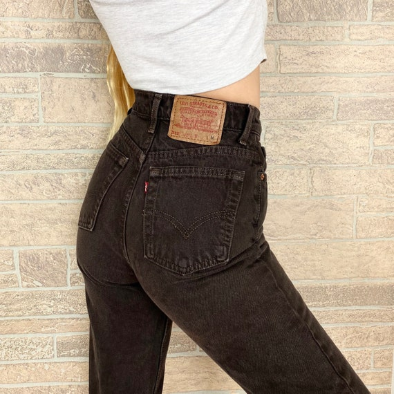 Levi's 512 Brown Jeans / Size 24