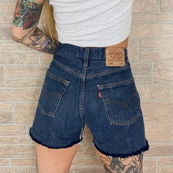 Levi's 501 Cut Off Shorts / Size 25 26