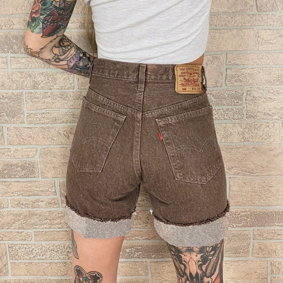 Levi's 501 Brown Shorts / Size 28 29
