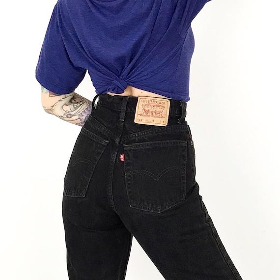 Levi's 512 Black Jeans / Size 26