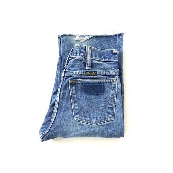 70's Wrangler Western Jeans / Size 21 22 XXS