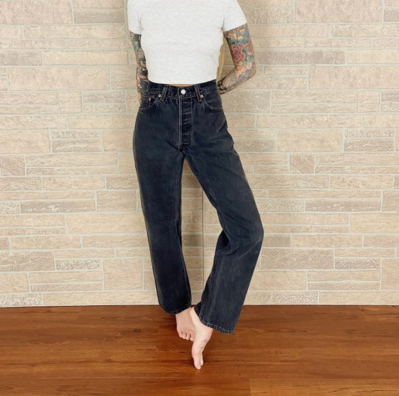 Levi's Faded Black Jeans / Size 30