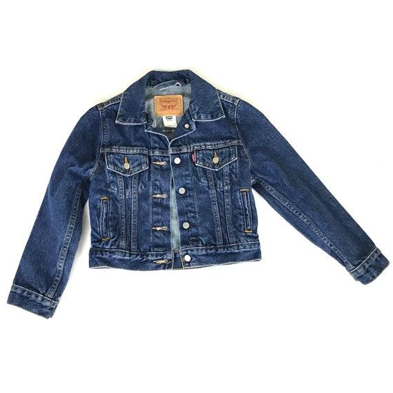 Vintage Levi's Denim Trucker Jacket / Kid's Small