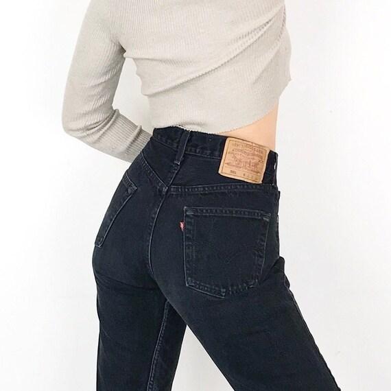 Levi's 501 Black Jeans / Size 27
